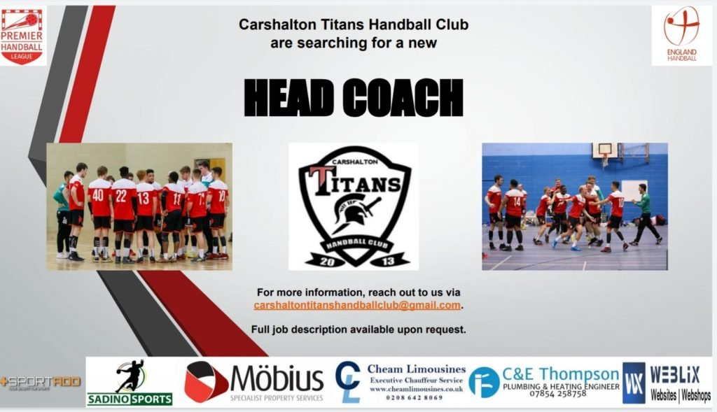 Head Coach Opportunity